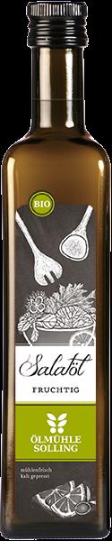 Bio fruchtiges Salatöl