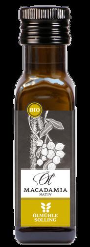 Bio Macadamiaöl nativ