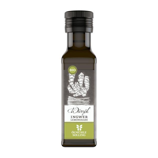 Bio Ingwer-Lemongrass Würzöl