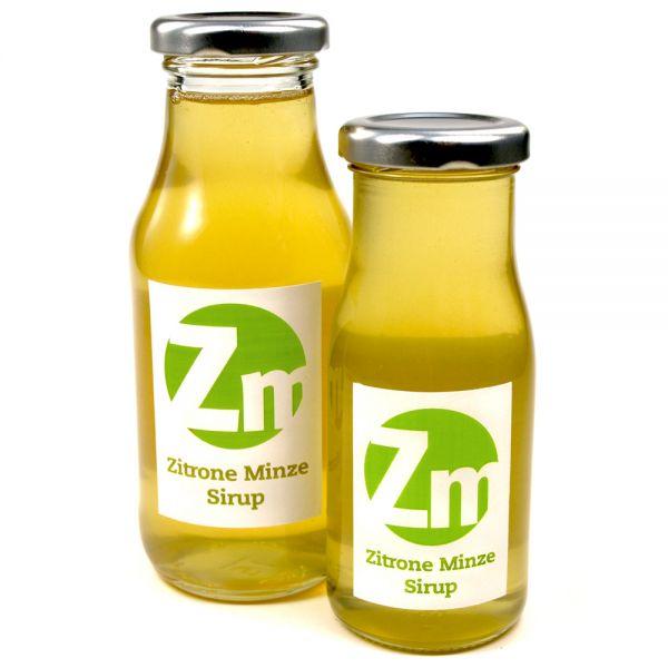 Zitrone Minze Sirup