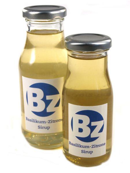 Basilikum Zitrone Sirup