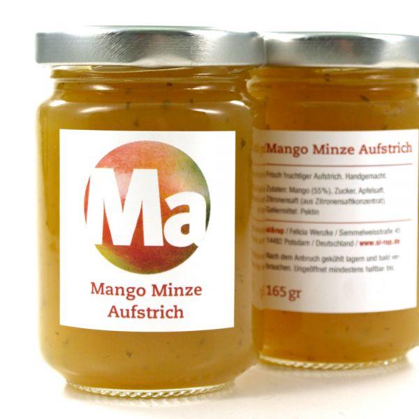 Mango Minze Aufstrich